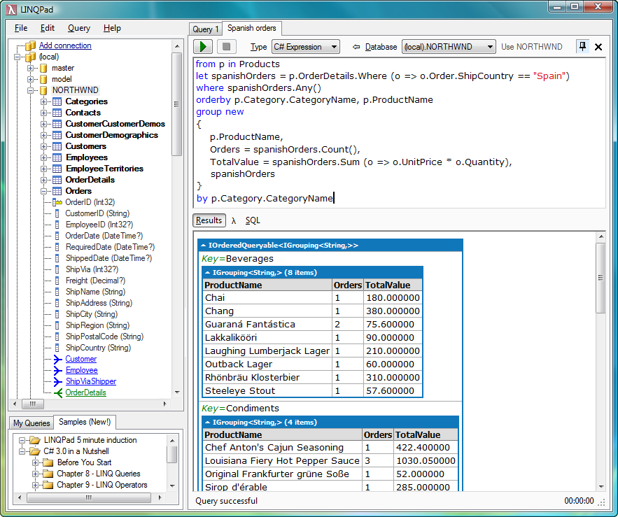 LINQPad Screenshot